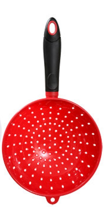 Colander Applicator for Bonding Flock