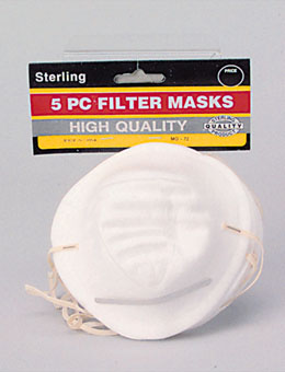 5 Disposable Dust Mask